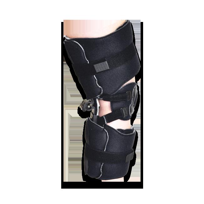 KO KMO Knee Orthosis (w/o Plastic Thigh & Calf Panels) Pediatric Black