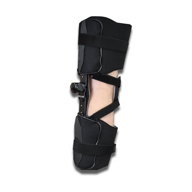 KO KMO V/V Knee Orthosis (w/o Plastic Thigh & Calf Panels) Pediatric Black