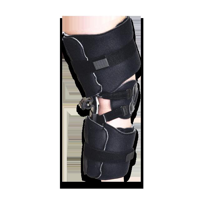 KO KMO Knee Orthosis (w/o Plastic Thigh & Calf Panels) Adult Black