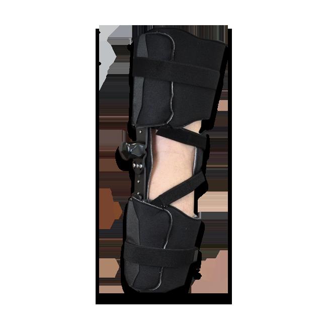 KO KMO V/V Knee Orthosis (w/o Plastic Thigh & Calf Panels) Adult Black
