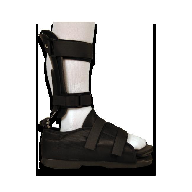 AFO TERRA HD w/Shoe - Adult Polyethelene Black